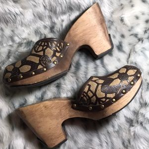 Kenneth Cole vintage wedge sandals, size 10